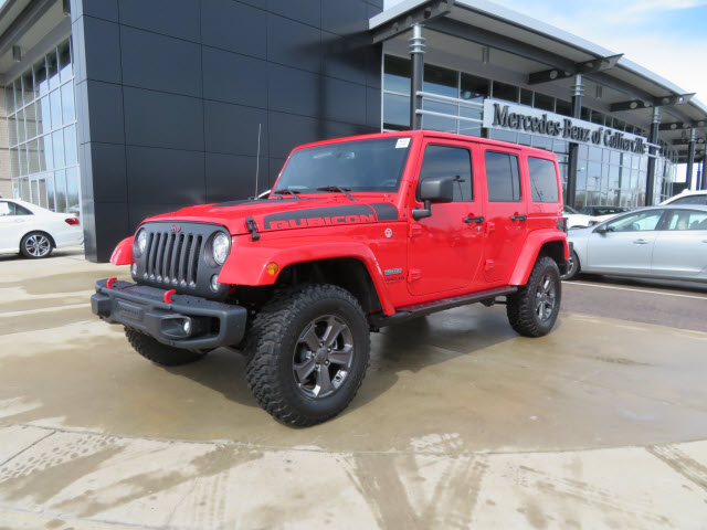 Pre-Owned 2017 Jeep Wrangler Unlimited 4x4 Rubicon