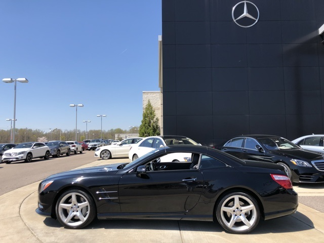 Certified Pre-Owned 2013 Mercedes-Benz SL-Class SL 550 Convertible