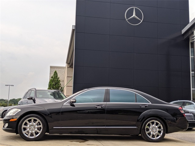 Pre-Owned 2008 Mercedes-Benz S 550 Sedan With Navigation