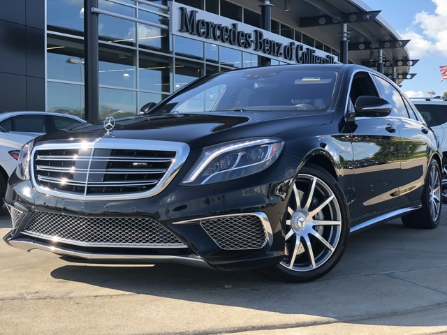 Certified Pre Owned 2015 Mercedes Benz S Class S 65