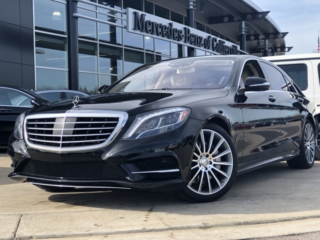 Pre-Owned 2015 Mercedes-Benz S-Class S 550 Sport