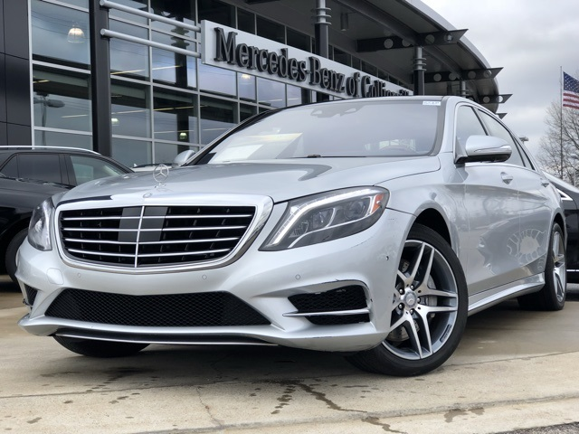 Certified Pre-Owned 2015 Mercedes-Benz S550 Sport 4MATIC®
