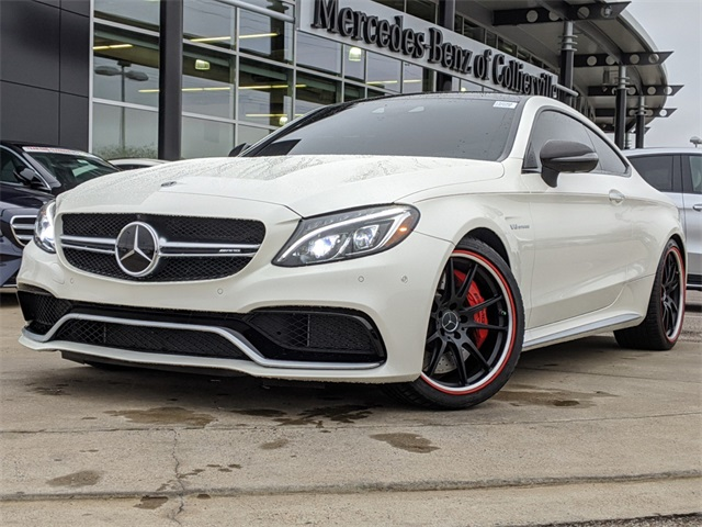 Certified Pre-Owned 2018 Mercedes-Benz C-Class AMG® C 63 S Coupe