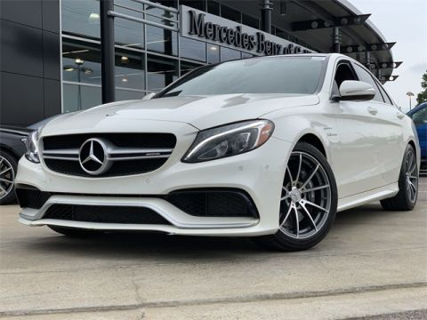 Certified Pre-Owned 2015 Mercedes-Benz C-Class AMG® C 63