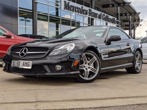 Pre-Owned 2009 Mercedes-Benz SL-Class AMG® SL 63