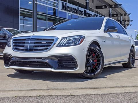 Pre-Owned 2019 Mercedes-Benz S-Class AMG® S 63 4MATIC®