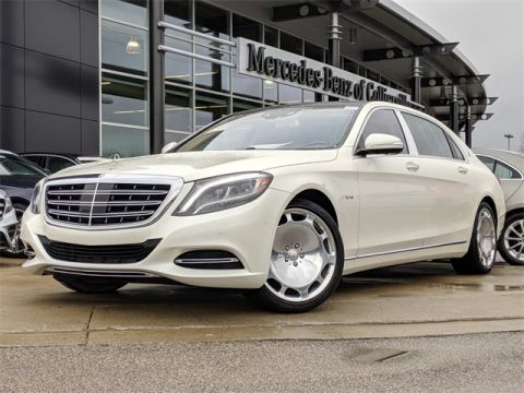 Certified Pre-Owned 2016 Mercedes-Benz S-Class Maybach S 600
