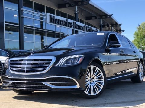 Certified Pre-Owned 2018 Mercedes-Benz S-Class