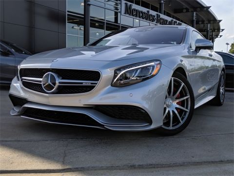 Certified Pre-Owned 2015 Mercedes-Benz S-Class AMG® S 63 Coupe