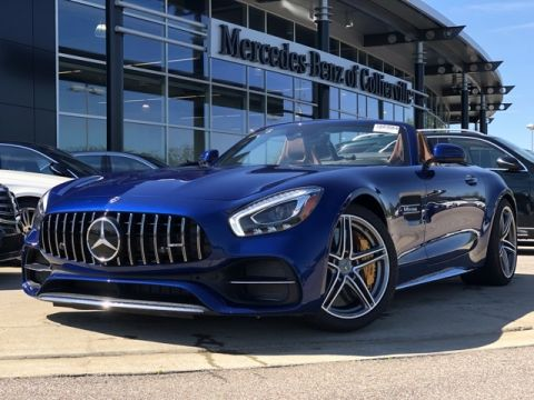 Pre-Owned 2018 Mercedes-Benz GT AMG® GT C Roadster
